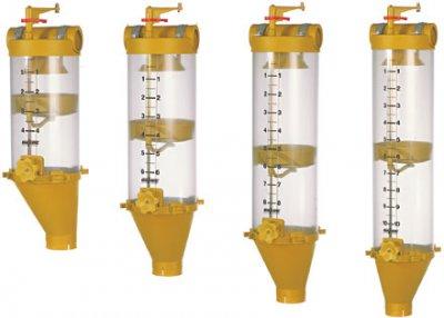 Volumendosierer PVC, 4 lt.