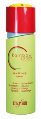 Rainbow Lotion face & body tanner
